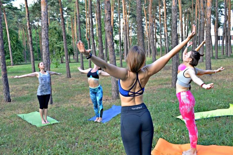 Відкритий клас із йоги в Києві