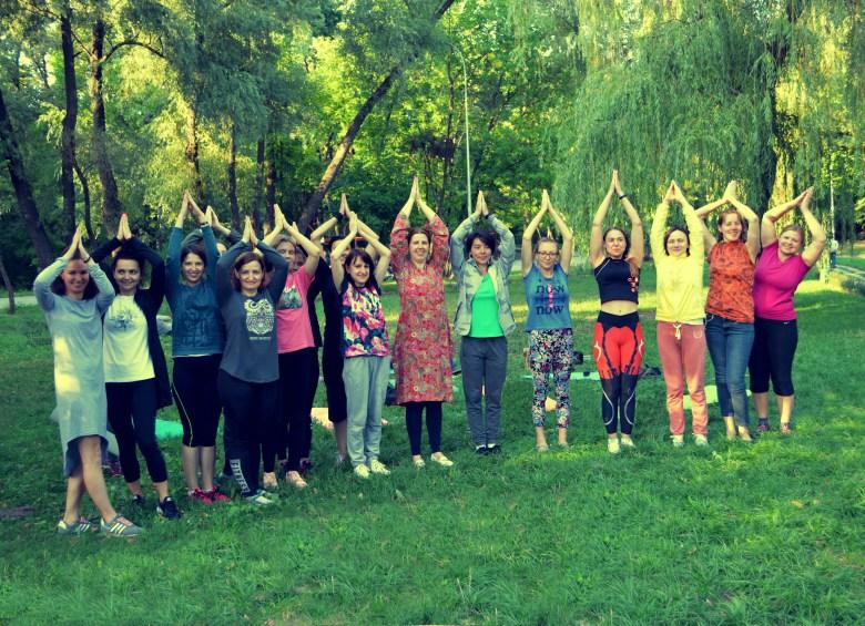Майстер-клас із йоги від Елемент здоров'я